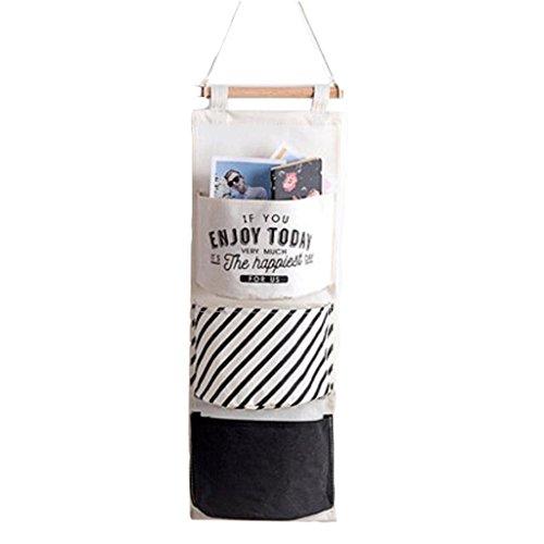 XXT Shoe bag Bolsa de almacenamiento de Tela Bolsa de almacenamiento colgante Bolsa de almacenamiento (Color : B)