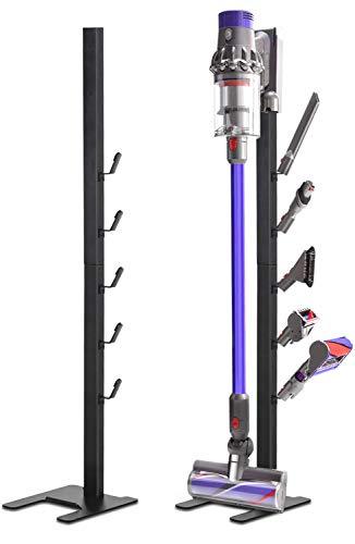 Toolhoom Vakuum-Ständer aus Metall für Dyson V11 V10 V8 V7 V6 Akku-Staubsauger Medium grau