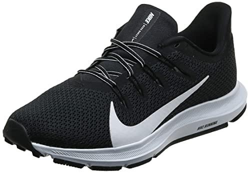 Nike Herren Quest 2 Laufschuhe, Schwarz (Black/White 002), 45 EU