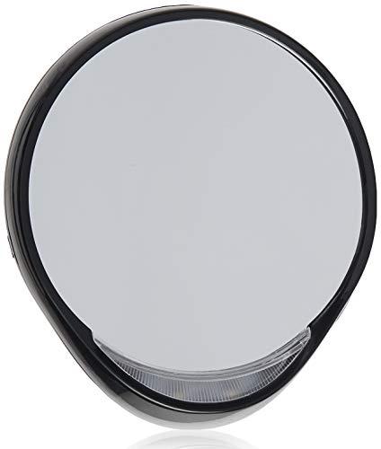 Tweezerman–Espejo cosmético con iluminación 10x iluminado espejo