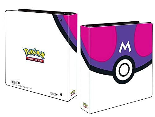 Ultra Pro E-15671 Álbum de 2 Pulgadas Pokemon Master Ball, Multi