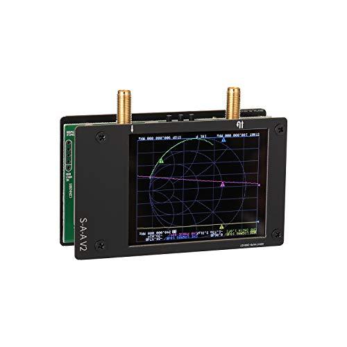 KKmoon Analizador de red portátil 3G Vector Network Analyzer SAA-2 NanoVNA V2...