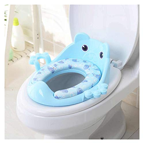 HAIBOMY Kids Potty Folding Baby Potty Infant Kids Toilet Training Seat with Adjustable Ladder Portable Urinal Potty Training Seats (Color : D4)