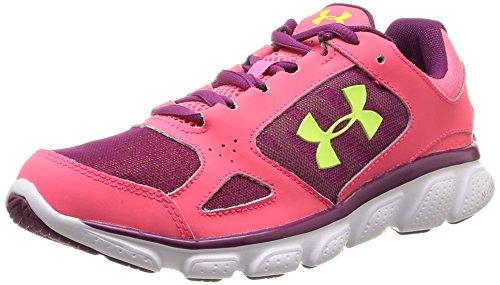 Under Armour UA W Micro G Assert V - zapatillas deportivas de material sintético mujer, color rosa, talla 365