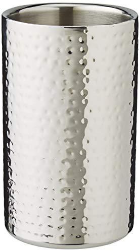 Fink KALAS Sektkühler/Weinkühler, Edelstahl, Silber, 19 x 11.5 x 19 cm