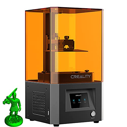 DBKJ Official Creality LD-002R UV LCD Resin 3D Printer 5.5' 2K Monochrome Built-in Activated Carbon Filter Printing Accuracy 0.01-0.05mm Suitable For Beginners