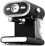 KK Zachary Máquina de café E con espumador de leche Máquina profesional de café espresso de 20 bar Control de temperatura Latte Mocha con brazo espumante de leche en casa oficina