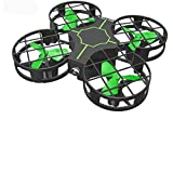 Baybee Storm Mini Drone Crash Proof RC Small Quadcopter One Key Take Off Landing Flips Rolls Nano Drones Toy for Kids-Helicopter with Flashing Light for Kids Flying Toys (Storm with Camera)