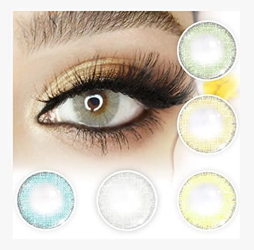 JULIA LENSES Jahres Kontaktlinsen farbig für Mann und Frau, Kontaktlinsen farbig Jahreslinsen in (Crystal) contact lens und Linsen Farb Kontaktlinsen