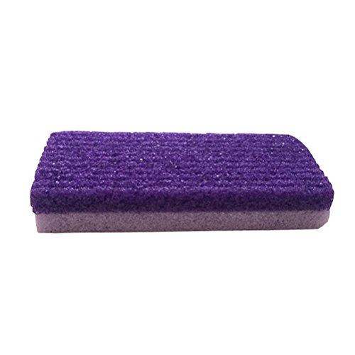 Frcolor Gommage massage des pieds, exfoliant Soins des pieds Sablage des pieds Soin Soin Peaux sèches Sèches Callus Ponce pierre naturelle