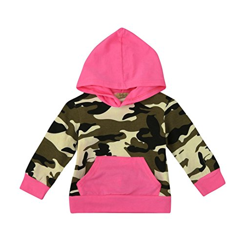 Kintaz Mom?Me Toddler Infant Baby Boy Girl Camouflage Hoodie Tops Family Outfit Clothes (12M)