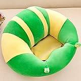 Archile Baby Support Sitzsofa Plüsch weiche tierförmige Baby Lernen Lernen, Stuhl zu sitzen stecken bleibt Halt Haltung Bequeme säuglingssitzstuhl (grün) (Color : Green)