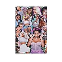 Female Rappers キャンバス アート ポスターとウォール アート イメージ プリント モダンな家の寝室のインテリア ポスター 16×24inch(40×60cm)