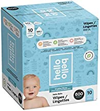 Hello Bello Baby Wipes 600 count