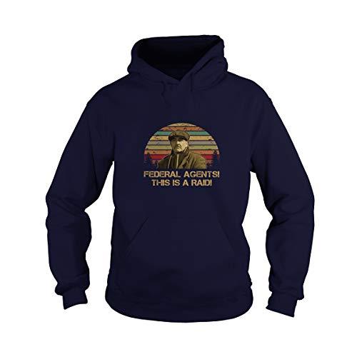Uzubunki Camiseta de los Agentes Federales This is A Raid Vintage Gift Idea