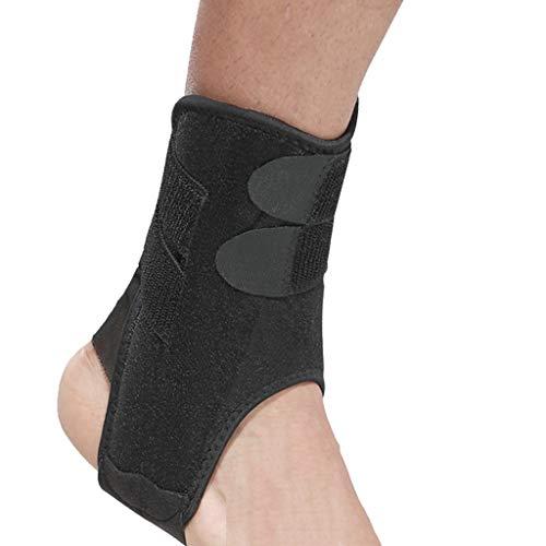 XXT Fractura del tobillo de recuperación, protección conjunta, torcedura, rehabilitación antiestática, pies transpirables, equipo de protección, color negro, tamaño 2 packs