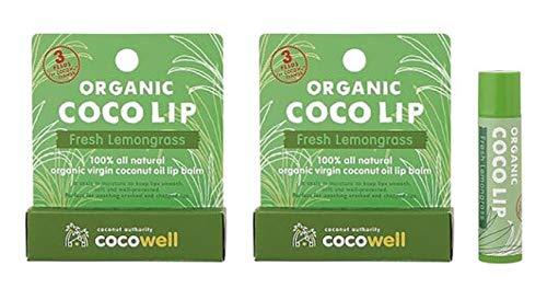 無添加 オーガニック ココリップ クリーム (フレッシュレモングラス)5g×2個 ネコポス 商品1個につき3ペソ(約6円)が「ココナッツ農家支援基金」に活用される・天然由来成分100% ・オーガニックバージンココナッツオイル配合 ・甘く爽やかなレモングラス