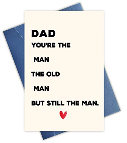Funny Father s Day Card, Funny Birthday Card for Dad, Funny Card for Dad from Son Daughter, Fathers Day Card Funny