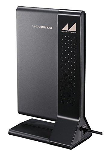 日本アンテナ地デジ室内アンテナAtrediaブースター内蔵タイプARBL1(B)ブラック