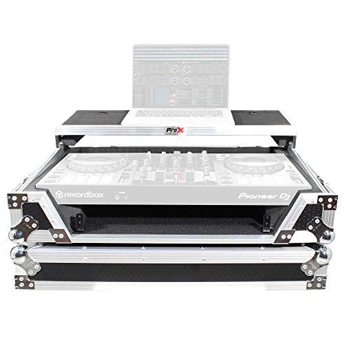 proX xs-ddjsx Road Ready Pro DJ flight case diseñado para sostener el...
