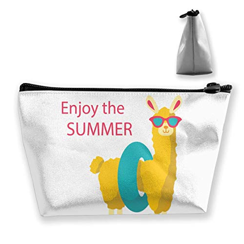 Trousse de Toilette Trousse de Toilette Portable Trousse de Voyage Enjoy The Summer