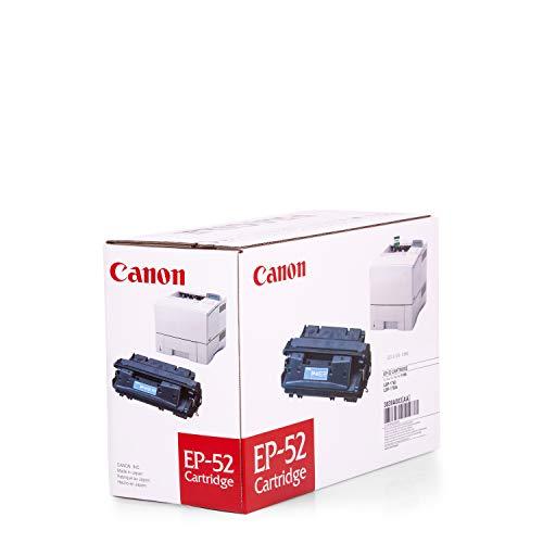 Toner original para HP Laserjet 4050N CANON EP52, EP de 523839A003, 3839A003AA–PREMIUM de impresoras cartucho–Negro–10.000páginas