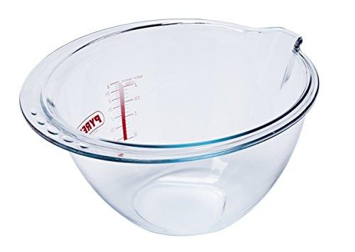 Pyrex 8021705Jatte Expert Bowl Kapazität 4L2–8021705, Glas, transparent, 28cm