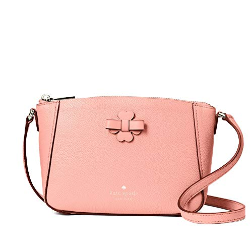 Kate Spade Talia Leather Zip Crossbody Bag Purse Handbag (Peachy Rose)