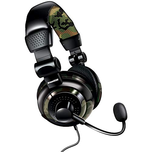 dreamGEAR Universal Elite Amplified, Wired Stereo Gaming Headset for PS4, Xbox One, PS3, Xbox 360, Wii, WiiU, and Even PC