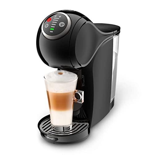 De'Longhi Dolce Gusto Genio Plus Line EDG315.B - Cafetera automática de cápsulas, 15 bares de presión, color negro