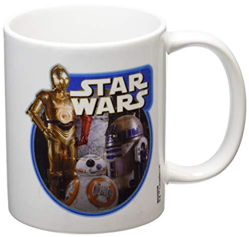 Taza Ceramica Star Wars Droids Episodio VII Producto Oficial Disney