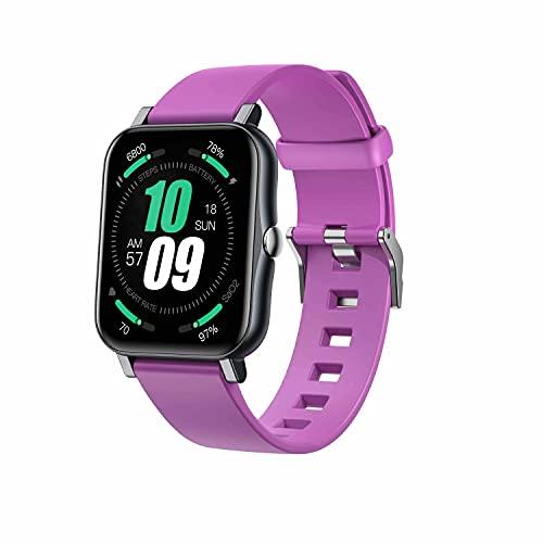 ZGZYL S80 Ladies Smart Watch, Rastreador De Fitness para Hombres IP68 Reloj Deportivo A Prueba De Agua con Presión Arterial/Oxígeno De Sangre/Monitor De Frecuencia Cardíaca para iOS Android,G