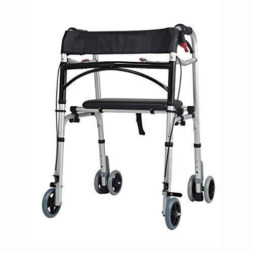 ZXL Alter Caddy Old Man Trolley Einkaufen Vier Runden Lebensmittel, um ältere Menschen zu kaufen, um dem kleinen Wagen WD zu helfen