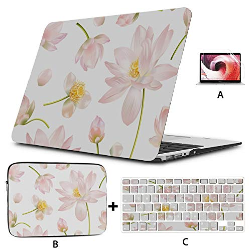 Macbook Pro13 Inch Case Comfortable Quiet Fitness Motion Yoga Macbook Air Case A1466 Hard Shell Mac Air 11'/13' Pro 13'/15'/16' With Notebook Sleeve Bag For Macbook 2008-2020 Version