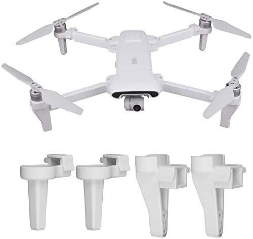 Linghuang Extendido Accesorios de Drones para Xiaomi FIMI X8 SE - Tren de Aterrizaje de liberación rápida - Soporte de Pata de extensión - Protector de Soporte - Reemplazo de Accesorios de expansión