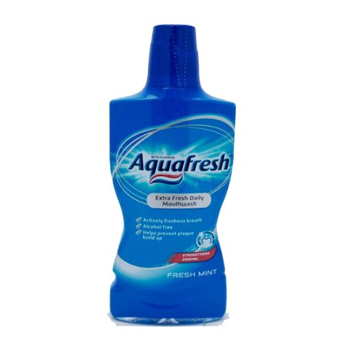 Aquafresh Mondwater - Fresh Mint 500 ml