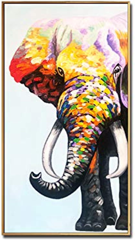 grandes ofertas GYXYZS Entrada Pintura Moderna Minimalista Decorativa Pasillo Pasillo Pinturas Pinturas Pinturas verdeicales Pintado A Mano Tridimensional Pintura Al óleo Mural Nórdico  venta al por mayor barato