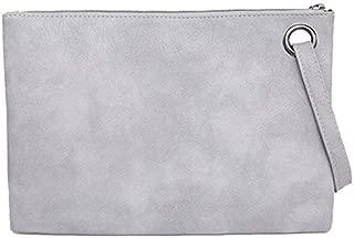 iBag's Fashion solid women's clutch bag leather women envelope bag clutch evening bag female Clutches Handbag