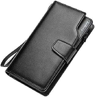 الرجال النساء محفظة جلدية حقيبة يد للجنسين محفظة طويلة hasp متعددة الوظائف