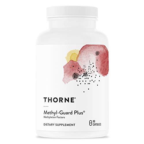 Thorne Research - Methyl-Guard Plus - Suplemento de Soporte de Metilación con 5-MTHF (folato) y vitaminas B2, B6 y B12-90 Cápsulas