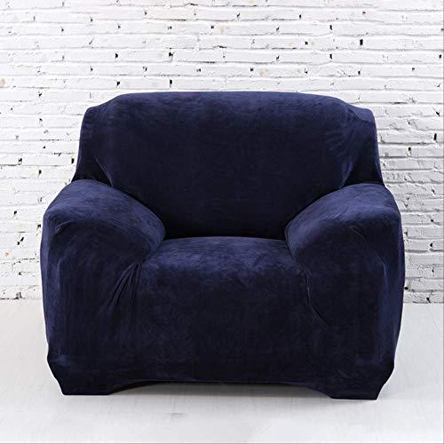 SWJM 1pc Plush Thicken Funda Universal para sofá Cubiertas elásticas para el sofá de Esquina seccional l Funda Deslizante en Forma de Protector de Sala de Estar 4 plazas (235-310cm) Plush Thicken