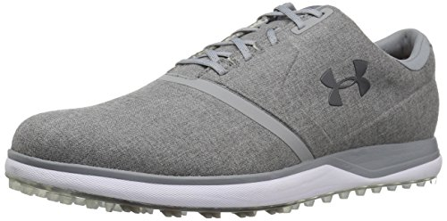 Under Armour Men's Performance Spikeless Sunbrella Golf Shoe, Charcoal (102)/Rhino Gray, 11.5