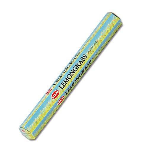 HEM(ヘム) レモン・グラス LEMON GRASS スティックタイプ お香 1筒 単品 [並行輸入品]