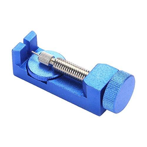 Betaling Horloge Band Band Band Band Link Pin Remover Reparatie Gereedschap Kit voor Horlogemakers met 3 STKS Extra Pins (blauw)