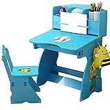 Juego de Sillas de Escritorio para Niños Los niños aprenden los alumnos de mesa puede levantar el Escritorio contratado jardín de infancia los niños escritorio y silla Traje Tarea turística para Pinta