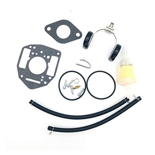 ACGGMR Kit de reconstrucción de carburador - Kit de reconstrucción de reparación de carburador de Motocicletas Fit para Miller P216G P218G P220G P224G 146-0657 J2J Kit de reconstrucción de carburador