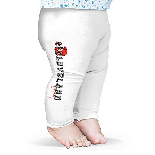TWISTED ENVY Baby Pants Cleveland American Football Established White 3-6 Months