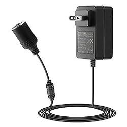 SHNITPWR AC to DC Converter 12V 2A 24W Car Cigarette Lighter Socket 110V to 12V Converter 100~240V AC to 12V DC Power Supply Adapter for Car Dash Cam Razor MP3 Humidifier Air Purifier Under 24W: Car Electronics