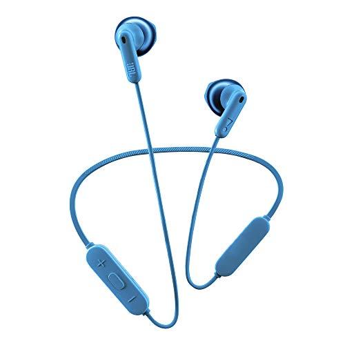 JBL Tune 215 Auriculares inalámbricos con Bluetooth, Sonido Pure Bass y conexión multipunto, batería de 16 horas con carga rápida, color azul