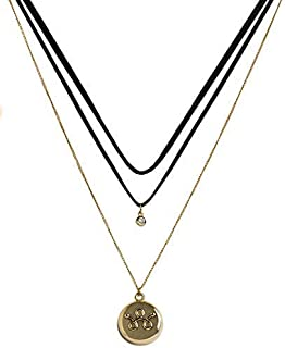 invisawear Smart Jewelry - Personal Safety Device - Gold Layered Choker
